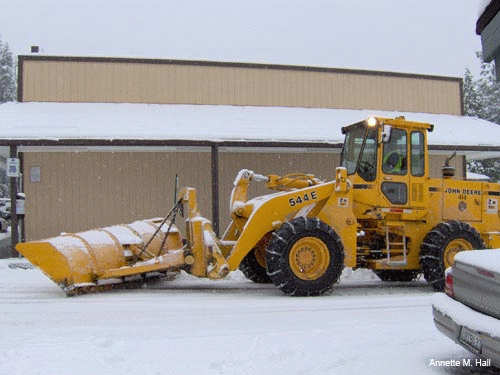 Monster Snow Plow