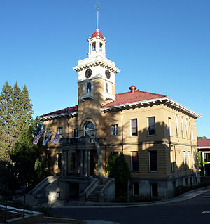 Tuolumne County Courthouse, Sonora, California...