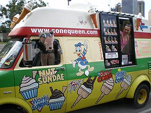 Cone Queen Ice-Cream Truck with Owner/Operator...