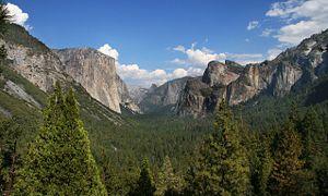 English: Yosemite valley, Yosemite National Pa...