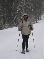 Snowshoeing at Dodge Ridge