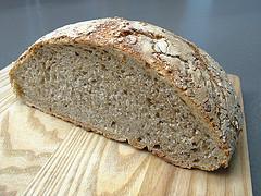 no-knead bread  |  pan de fermentación lenta
