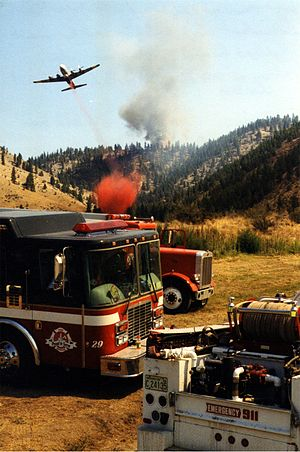 English: Deer Mtn. Fire