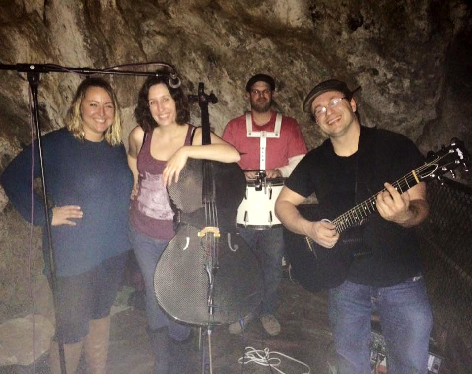 Dirty Cello at Moaning Cavern